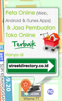 Peta Online dan  Toko Online